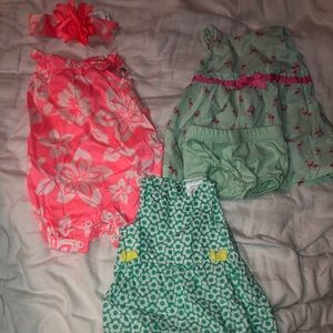 Other - BUNDLE: NB baby girl fancy outfit lot